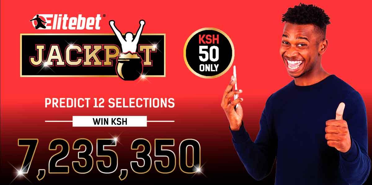Elitebet jackpot bonus Kenya