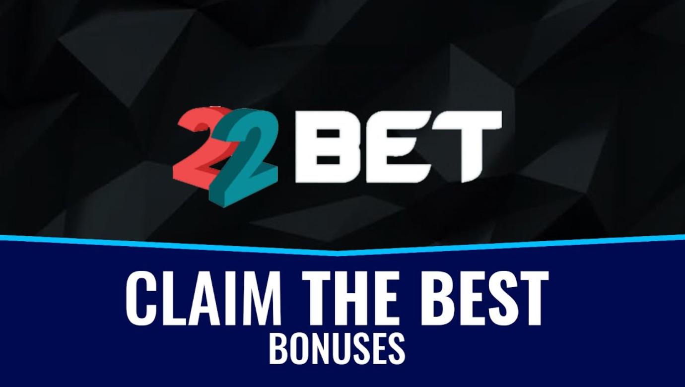 Welcome 22bet bonus code features