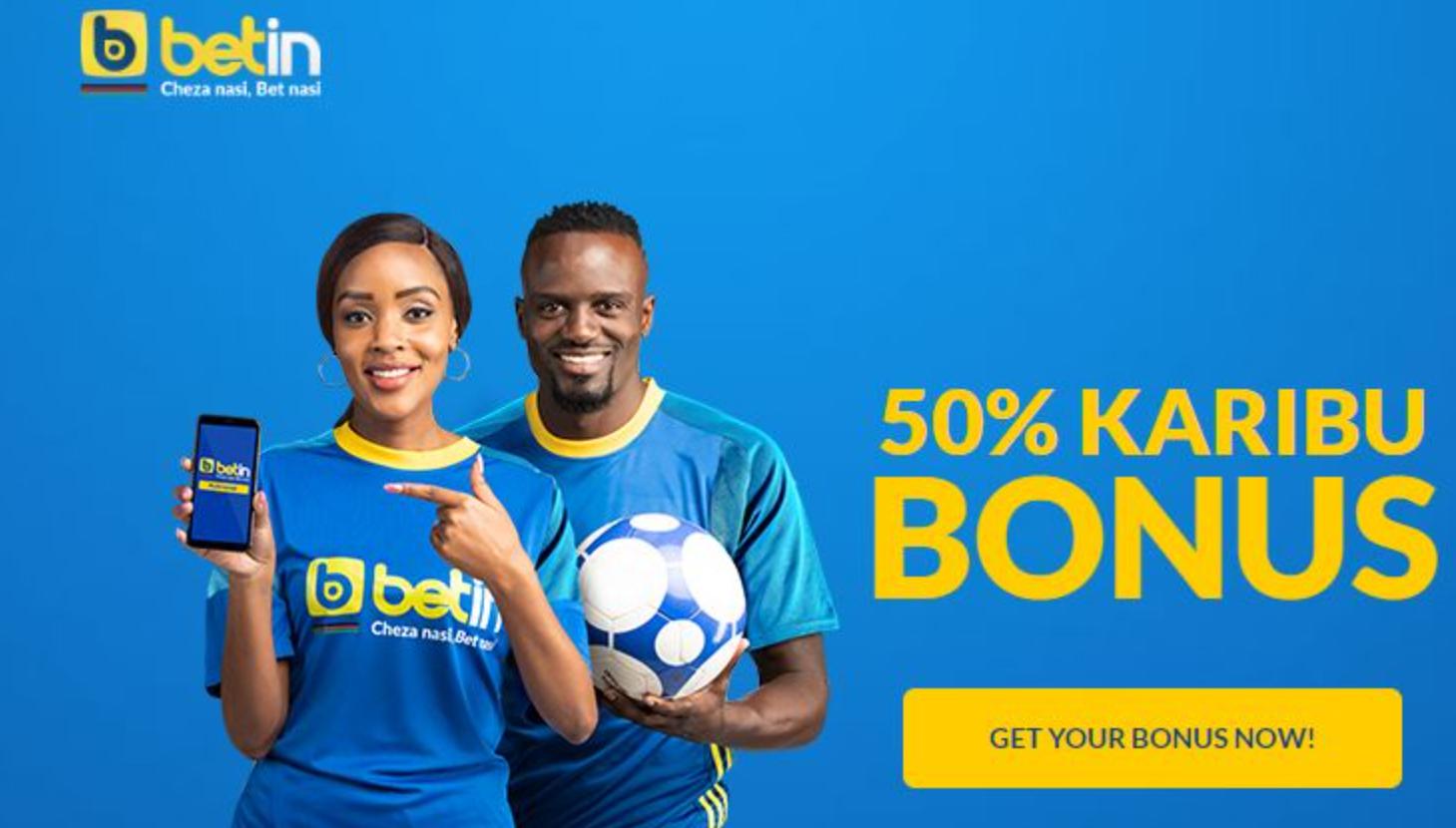 Betin in Kenya bonus